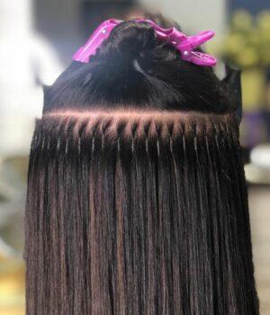 Keratin Bonded Hair Extensions